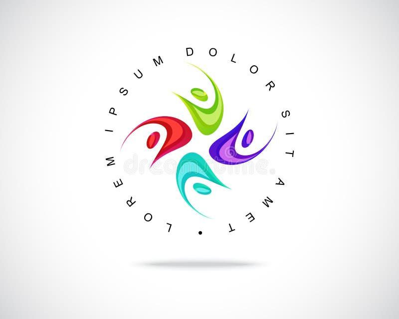 Vector abstracto Logo Design Template ilustración del vector