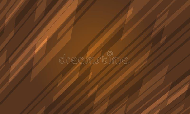 Vector abstracto moderno del fondo de Brown fotos de archivo libres de regalías