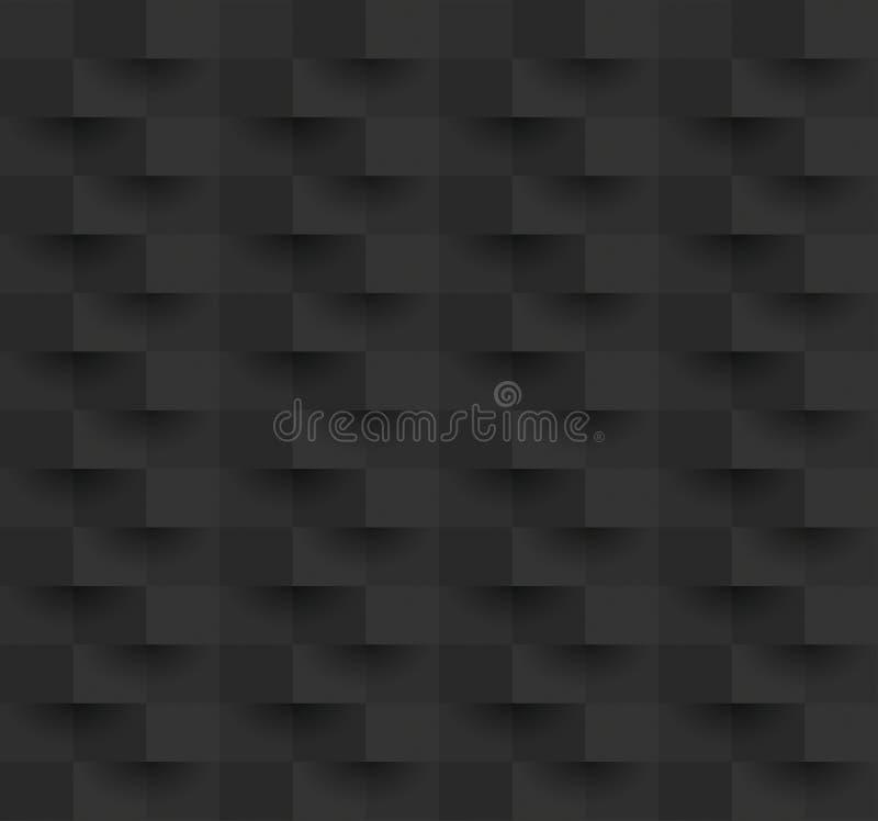 Vector abstracto negro del fondo stock de ilustración