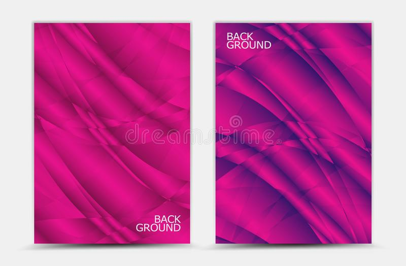 Vector abstracto rosado del fondo, plantilla de la cubierta, aviador del negocio, textura de la web, diseño gráfico stock de ilustración