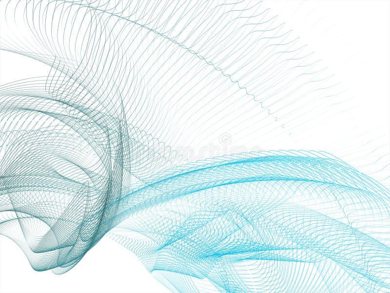 Vector abstrakten Hintergrund stock abbildung