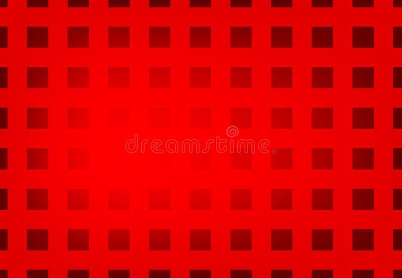 Vector abstrakten rote Farbgeometrischen gewellten Hintergrund, Tapete f?r jedes m?gliches Design lizenzfreie abbildung