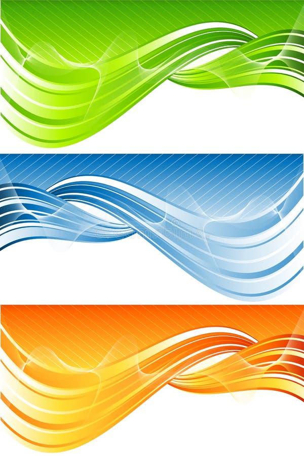 Vector abstrakten Vorsatz lizenzfreie abbildung