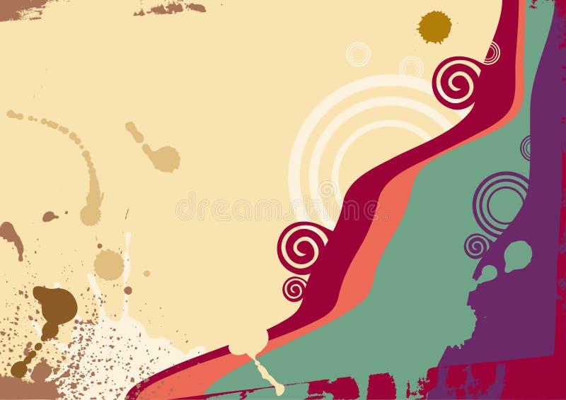 Download Vector Achtergrond Met Een Abstracte Golf Vector Illustratie - Afbeelding: 8546891