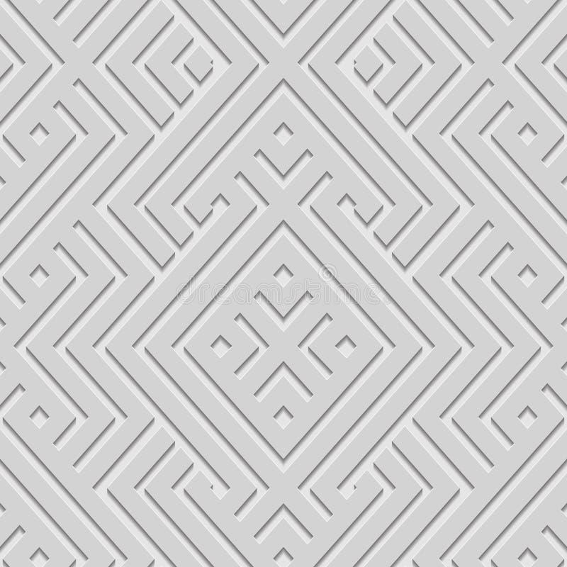 Vector achtergrond naadloos Islamitisch stijlpatroon vector illustratie