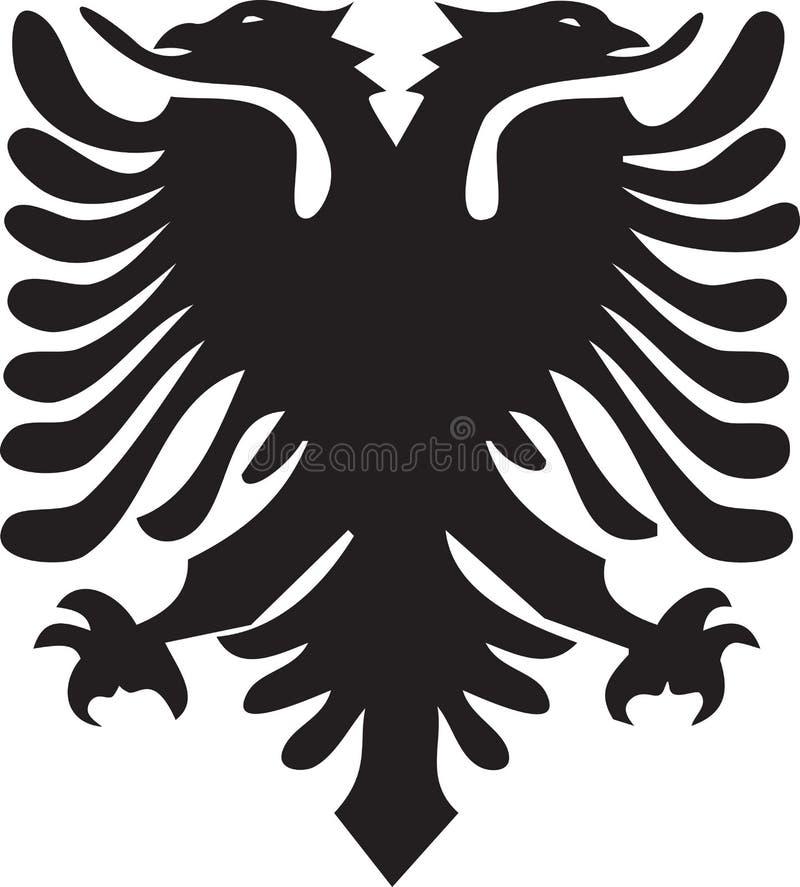 Vector Adelaar royalty-vrije illustratie