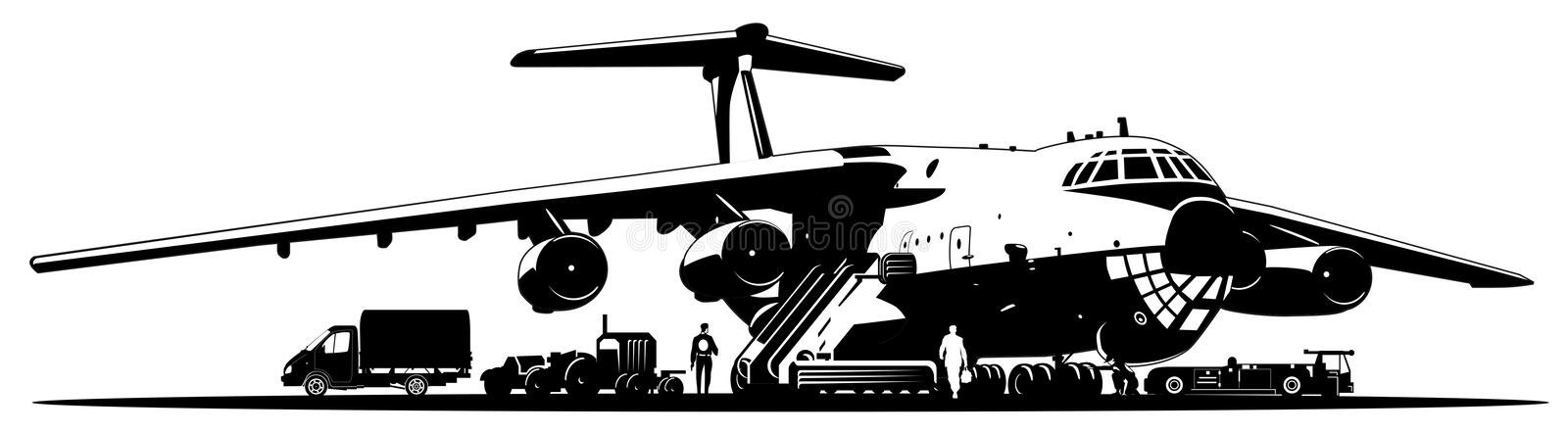 Il 76 Stock Illustrations – 7 Il 76 Stock Illustrations, Vectors & Clipart  - Dreamstime