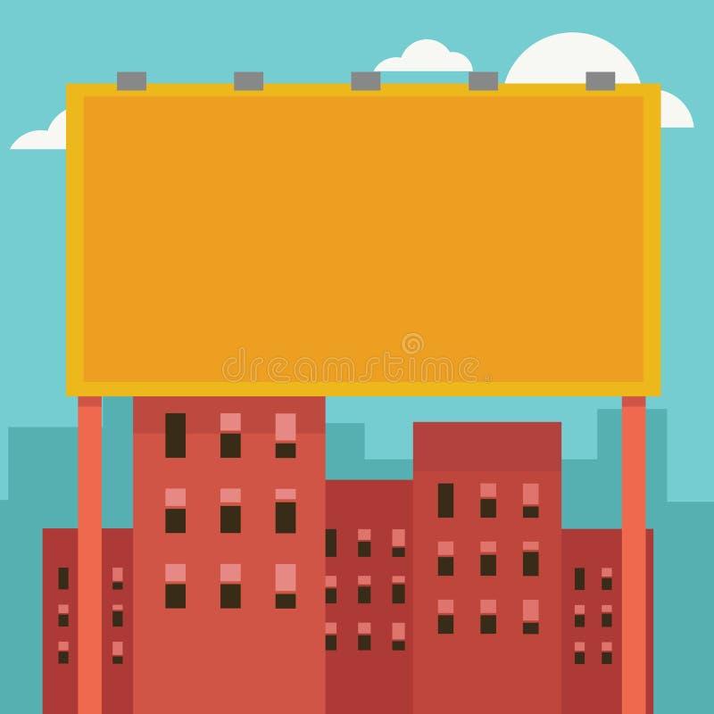 Vector al aire libre de la cartelera libre illustration