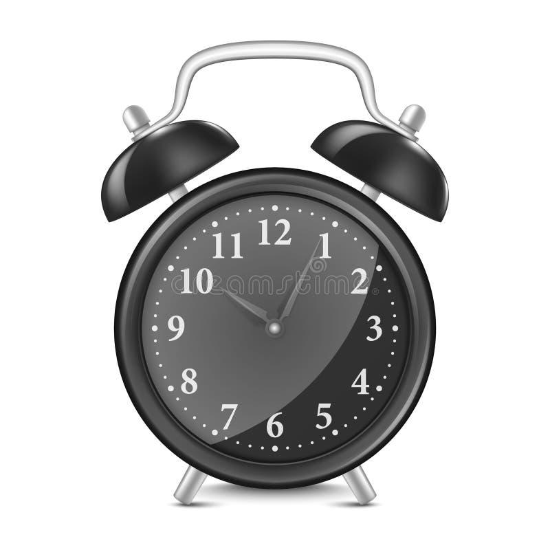 Vector alarm clock stock photography