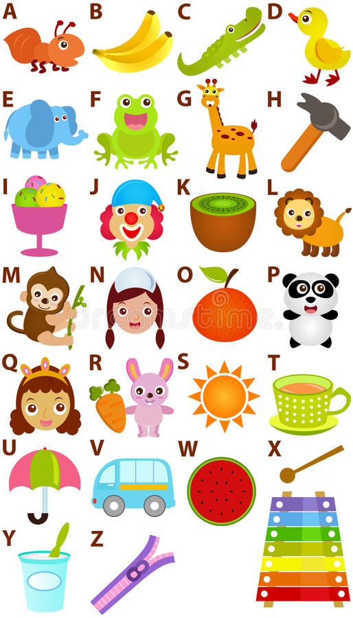 Download Vector Alphabet Set : A To Z Stock Vector - Image: 22410030