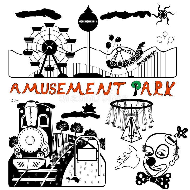 Download Vector amusement park stock vector. Illustration of action - 32722868
