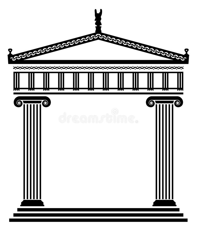 Download Vector Ancient Greek Architecture Stock Vector - Image: 23126816