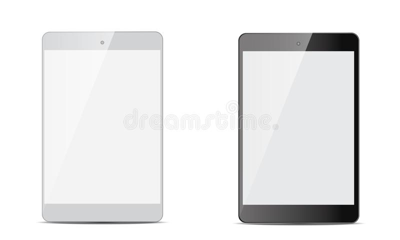 Vector Android Ipad Realistic Android Tablet vector illustration