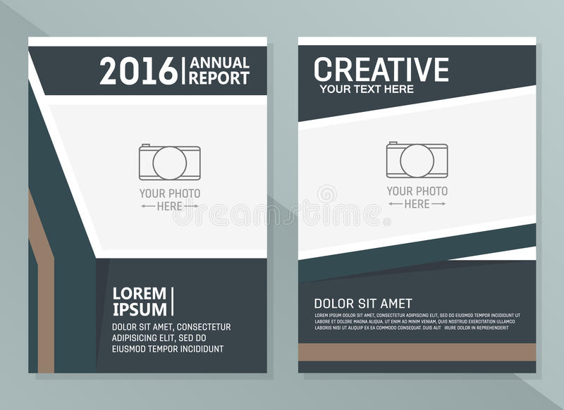 download vector annual report design templates business brochure flyer and cover design layout template