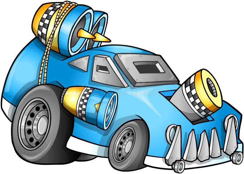 Vector apocalíptico del vehículo ilustración del vector