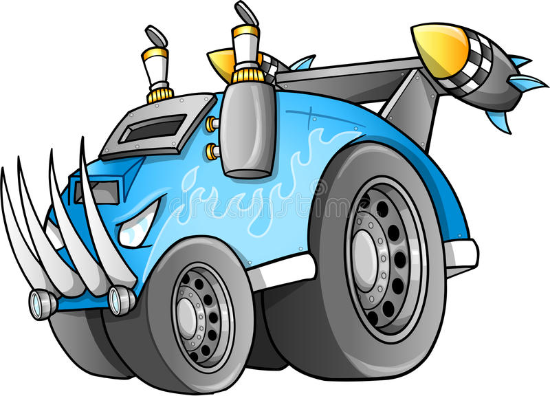 Vector apocalíptico del vehículo libre illustration