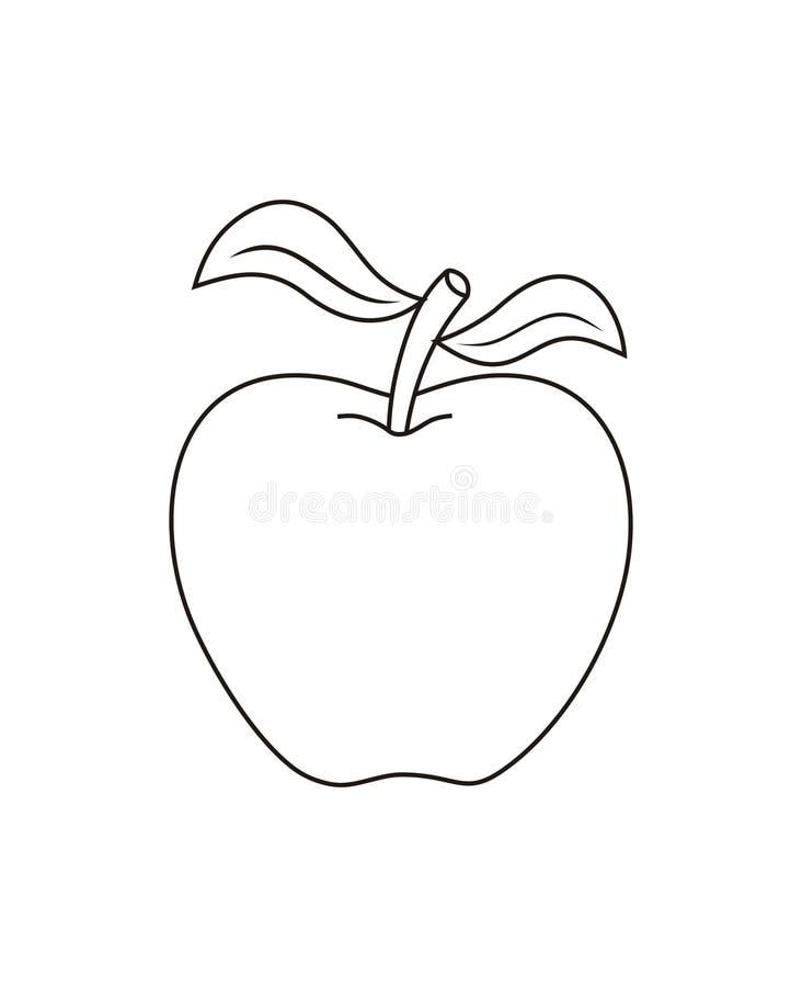Vector Apple stock photography