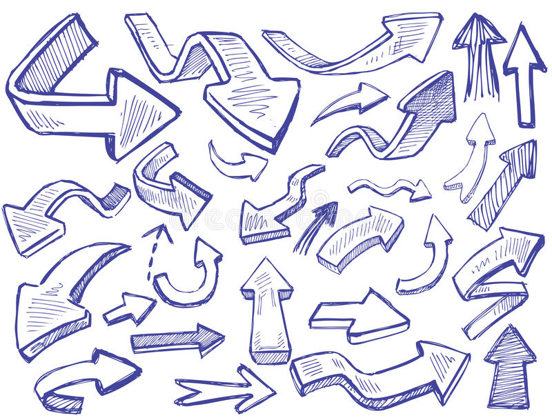 Vector arrows vector illustration
