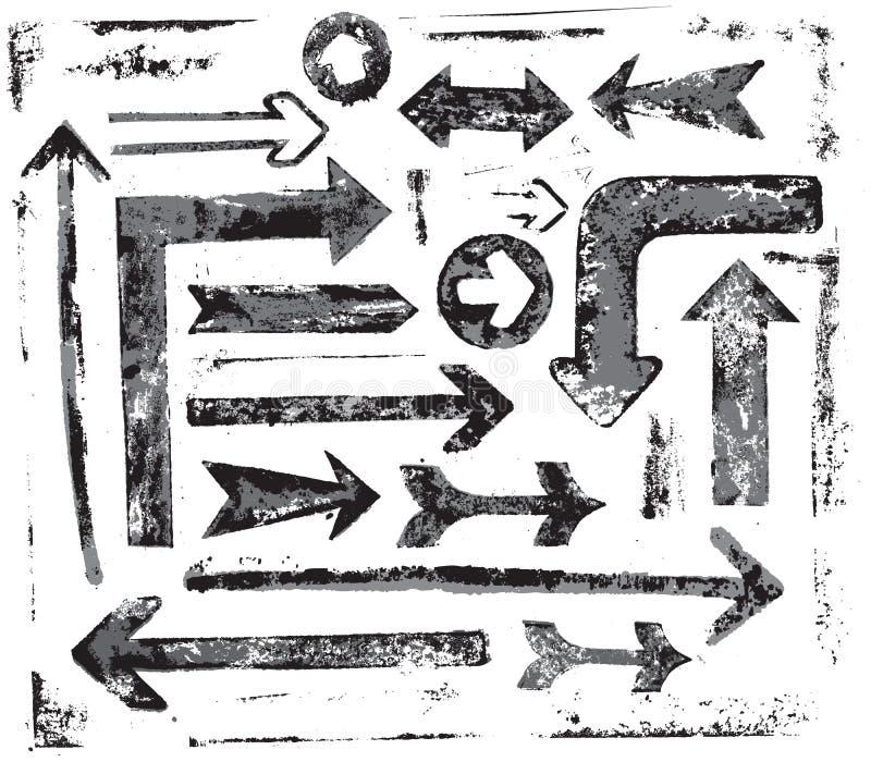 Download Vector arrows stock vector. Image of illustration, design - 30842036