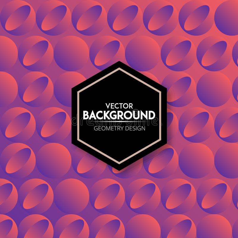Abstract gradient halftone dots background design stock image