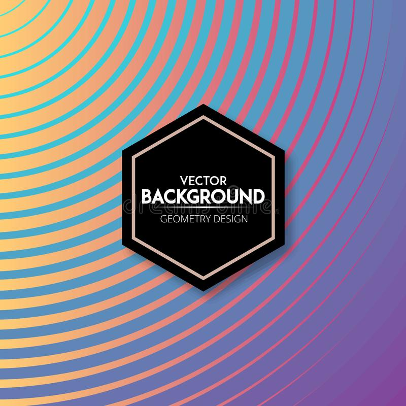 Vibrant gradient diagonal lines pattern background stock photography