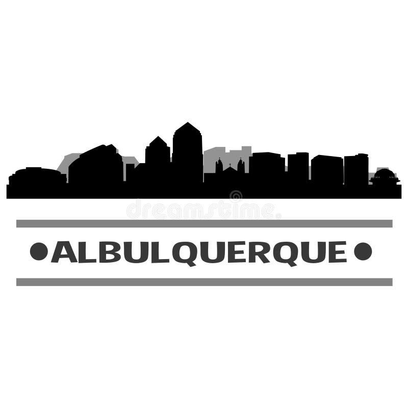 Download Vector Art Design Del Icono De La Ciudad Del Horizonte De Albuquerque Ilustración del Vector - Ilustración de label, cityscape: 100533470