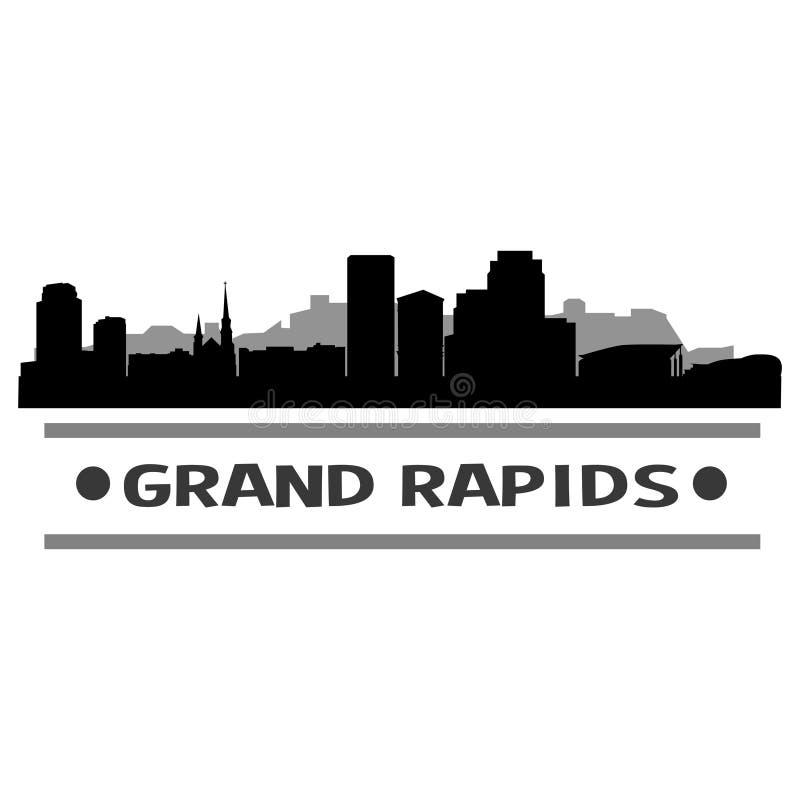 Download Vector Art Design Del Icono De La Ciudad Del Horizonte De Grand Rapids Ilustración del Vector - Ilustración de país, cityscape: 100531437