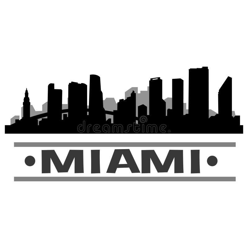 Download Vector Art Design Del Icono De La Ciudad Del Horizonte De Miami Ilustración del Vector - Ilustración de negocios, grande: 100535061