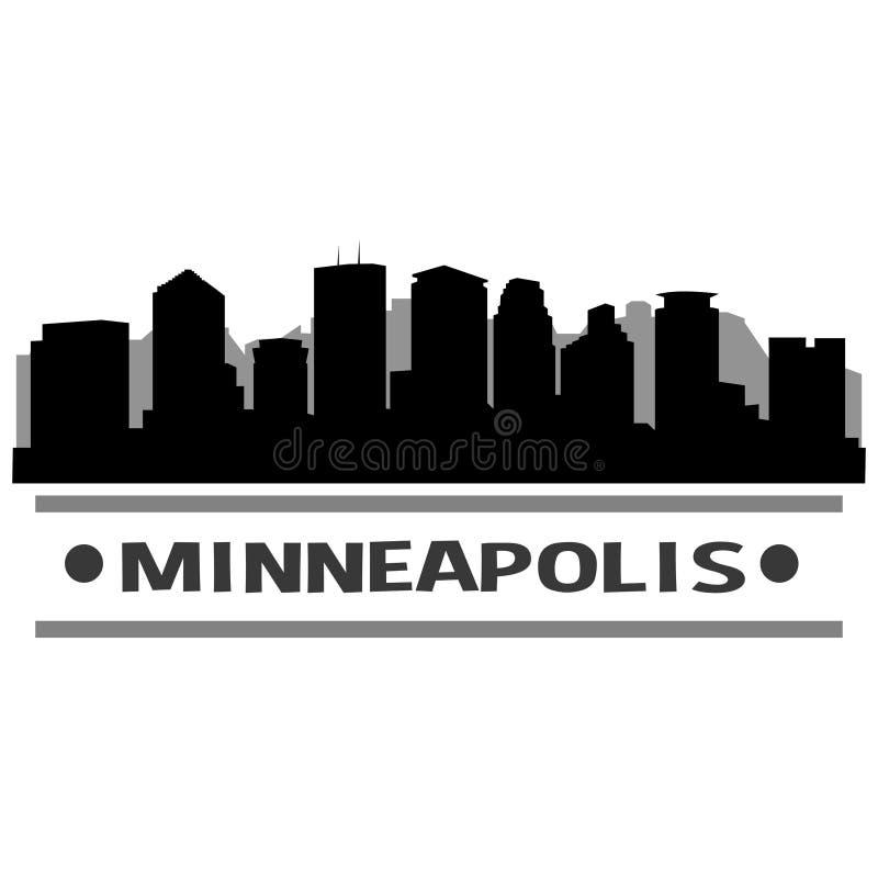 Download Vector Art Design Del Icono De La Ciudad Del Horizonte De Minneapolis Ilustración del Vector - Ilustración de honeymoon, capital: 100529126