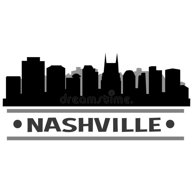 Download Vector Art Design Del Icono De La Ciudad Del Horizonte De Nashville Ilustración del Vector - Ilustración de diseño, cityscape: 100529542
