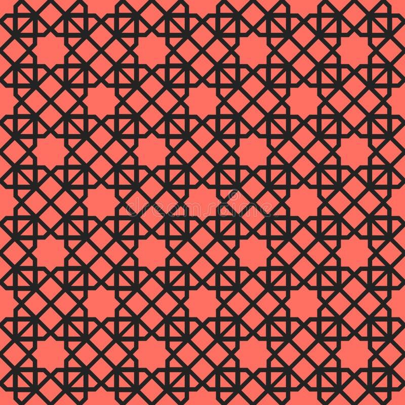 Vector Asian Geometric Pattern stock photos
