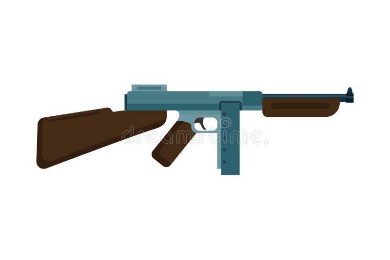 vector assault rifle icon stock vector illustration of bullets rh dreamstime com