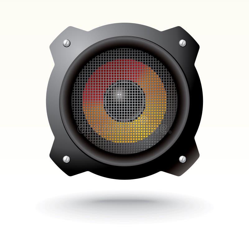 Download Vector audio speaker stock vector. Image of material - 21509624