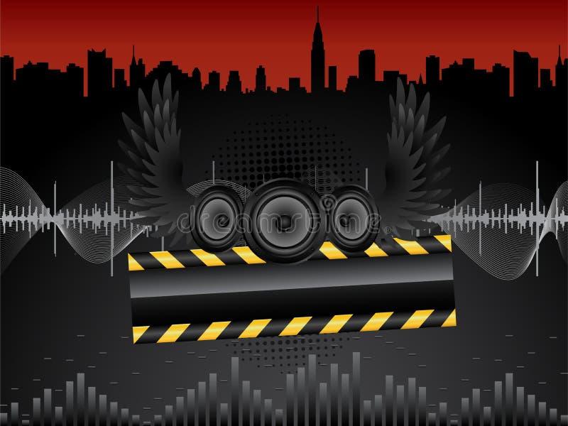 Vector Audio Speakers Stock Photography