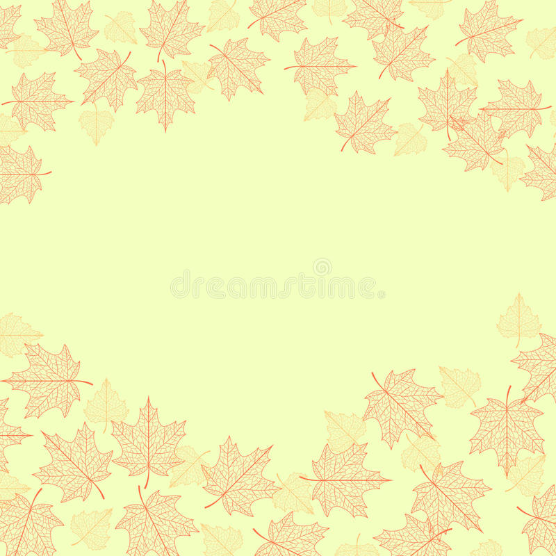 Download Vector autumn background. stock vector. Illustration of vector - 20786331