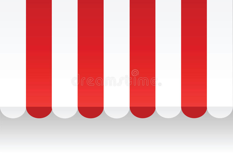 Vector Awning stock photography