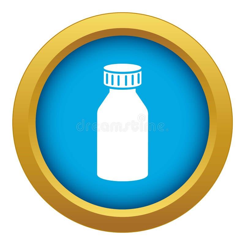 Vector azul ácido hidroclórico del icono aislado libre illustration
