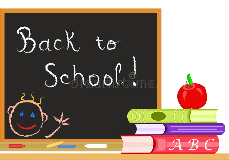 Vector Back to School stock illustration