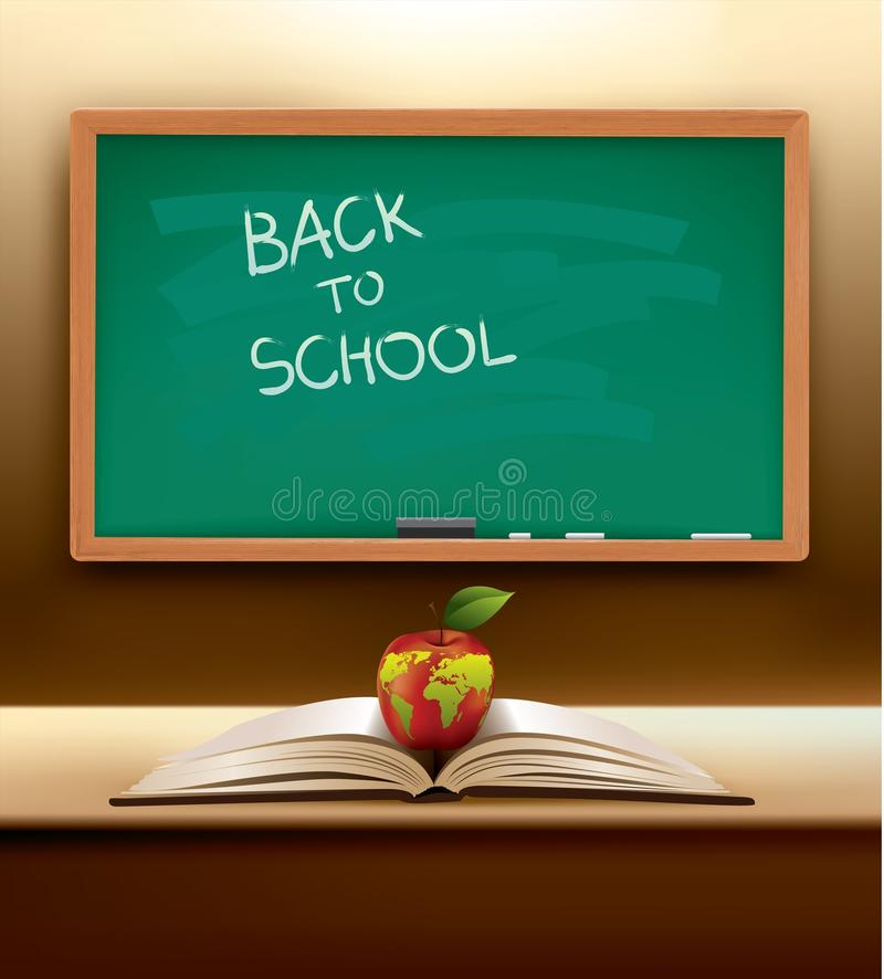 Vector Back To School Concept Stock Images
