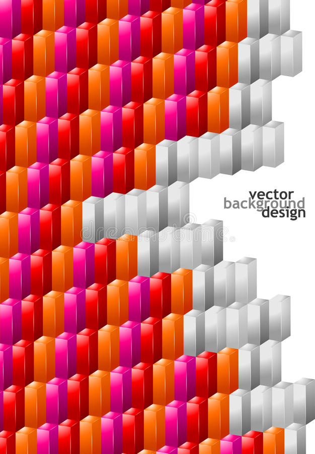 Vector Background Abstract Geometric Design Royalty Free Stock Photos