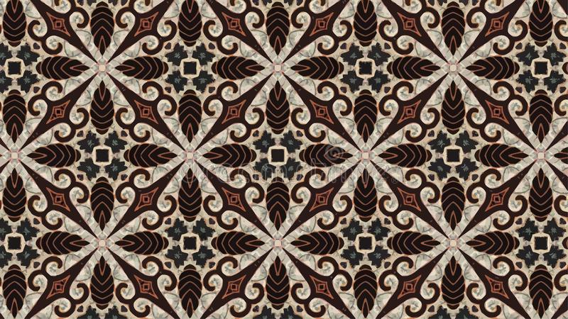 Vector Background of Batik Pattern vector illustration