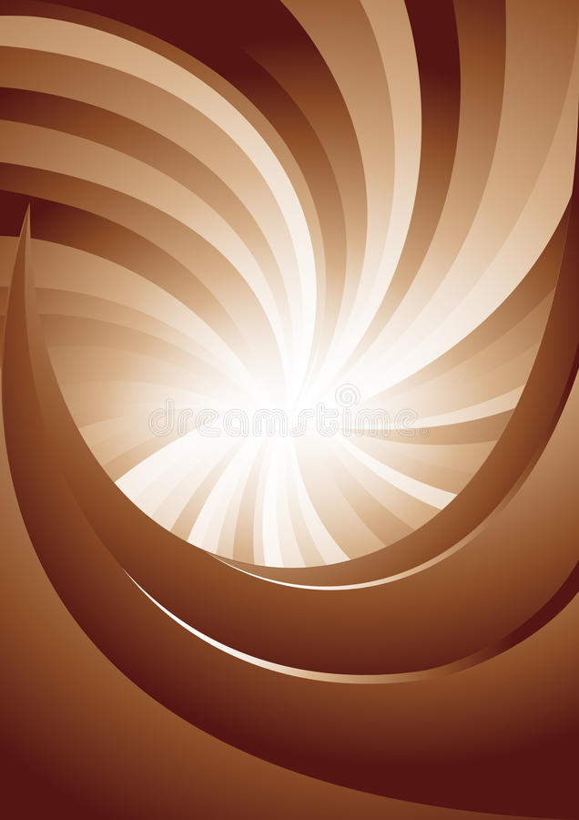 Vector background in brown color royalty free illustration