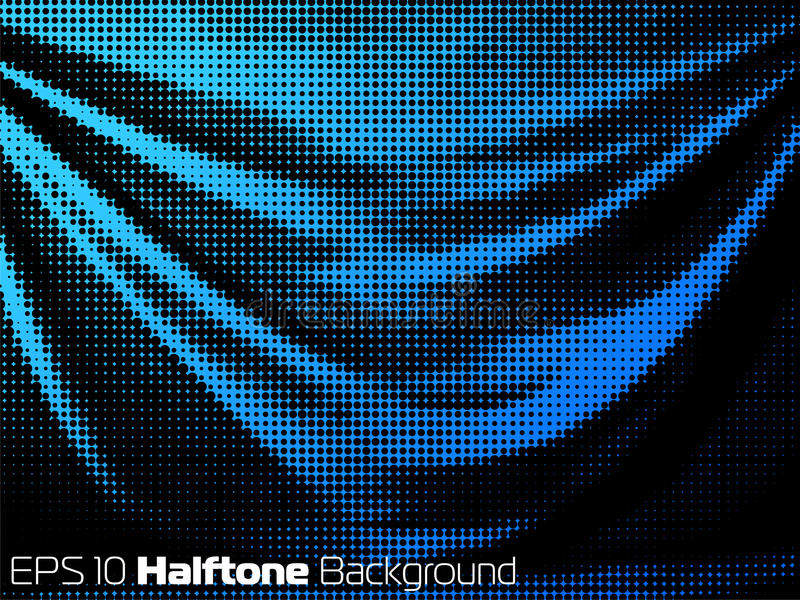 Vector Background With Distorted Dots Royalty Free Stock Photo