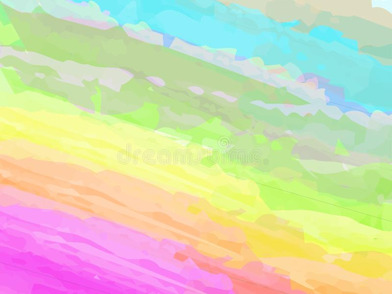 The vector background drawn with a brush vector illustration
