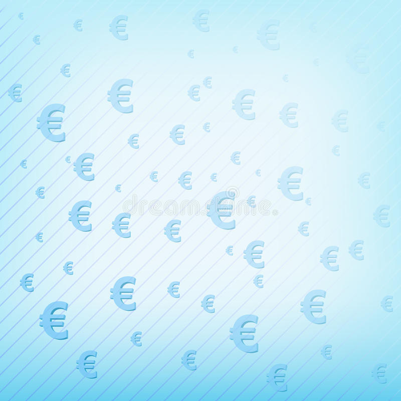 Download Vector Background With Euro Sign Stock Vector - Image: 30426696