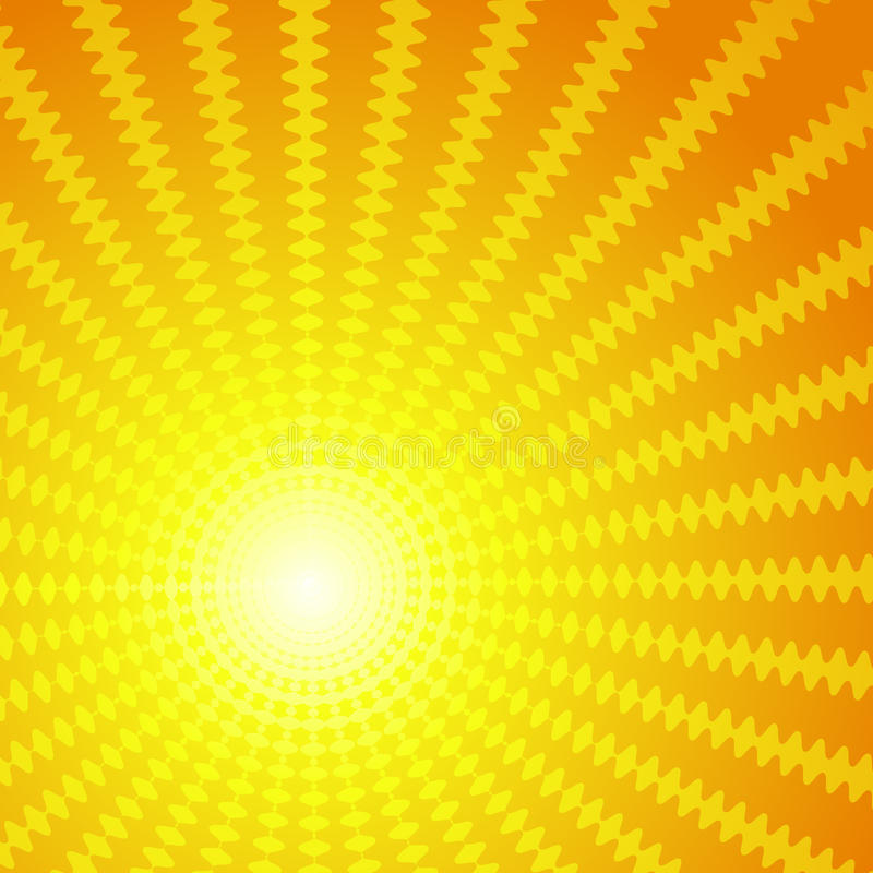 Download Vector Background In The Form Of The Sun Royalty Free Stock Photography - Image: 19680147