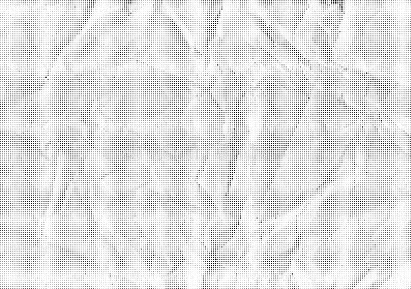 Vector background halfton crumpled paper. Halftone texture to overlay on the illustration stock illustration