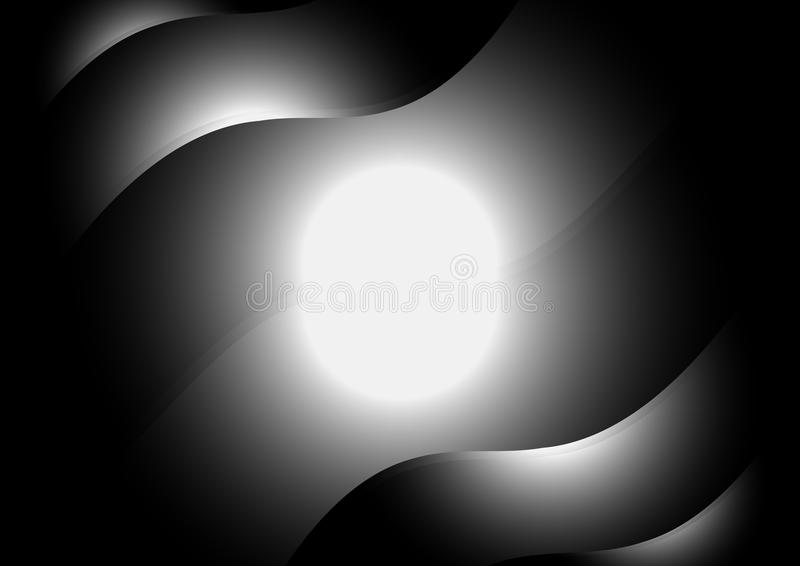 Vector background lights royalty free stock photo