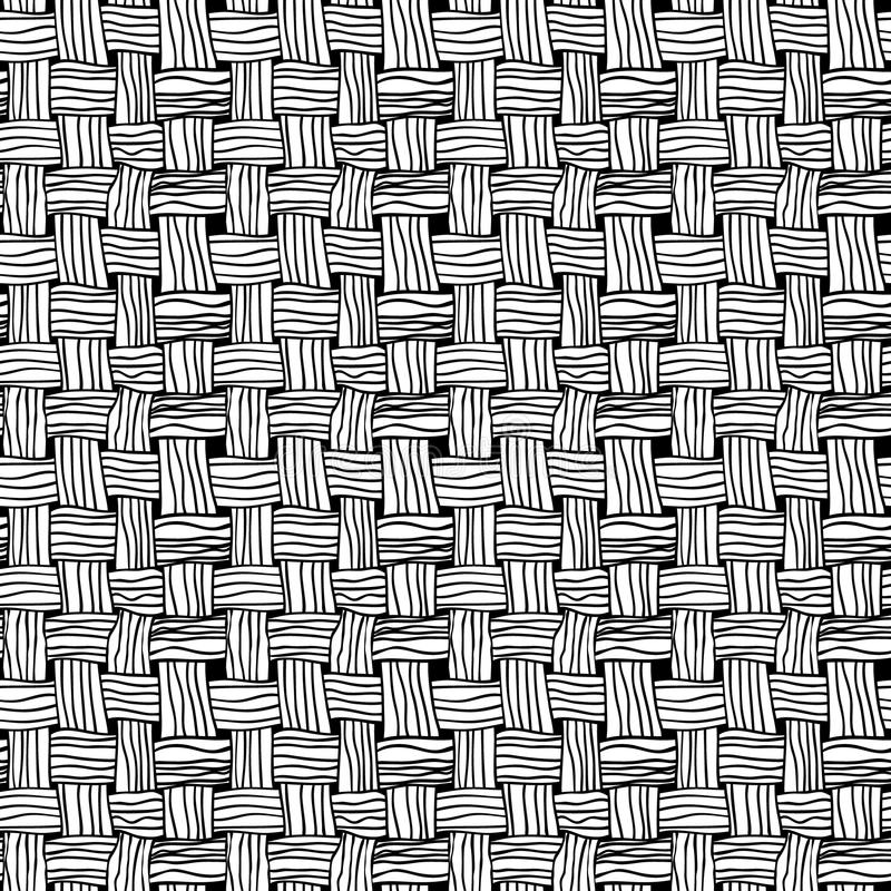 Vector background. Vector seamless line background. Cell graphic pattern vector illustration