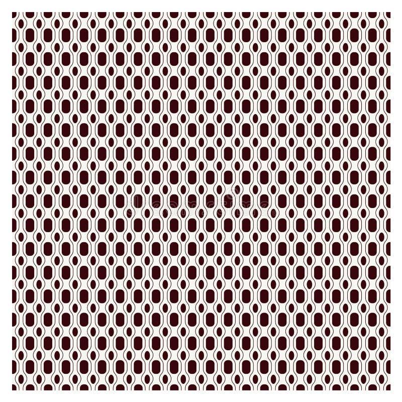 Vector background set seamless pattern Modern geometric texture Rep stock illustration